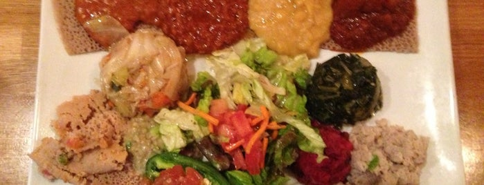 Desta Ethiopian Kitchen is one of Atl.
