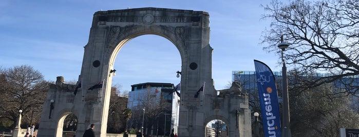 Bridge of Remembrance is one of Alan : понравившиеся места.