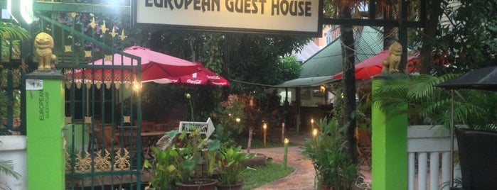 European guesthouse is one of Tempat yang Disukai Cela.