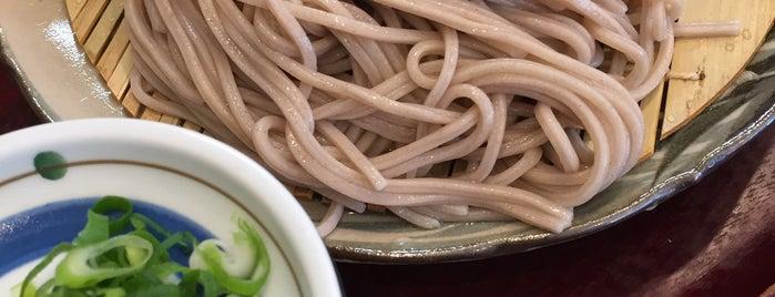 薮庵 is one of 奈良晩飯.