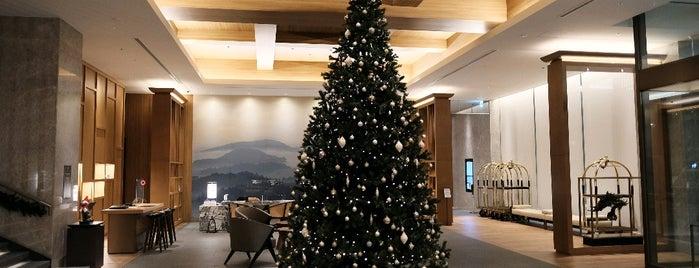 JW Marriott Hotel Nara is one of Lugares favoritos de 高井.