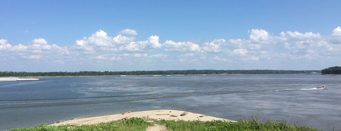 Confluence of the Mississippi and Ohio Rivers is one of Jerry 님이 좋아한 장소.