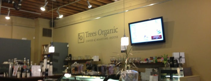 Trees Organic Coffee is one of Tempat yang Disimpan Tobias.