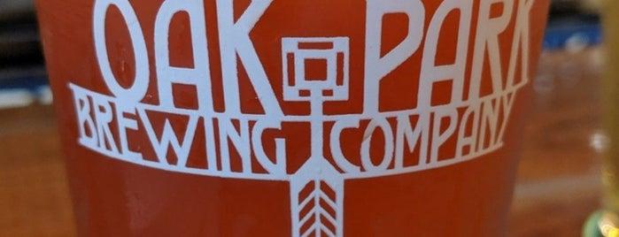 Oak Park Brewing Co. is one of Tempat yang Disukai Darren.