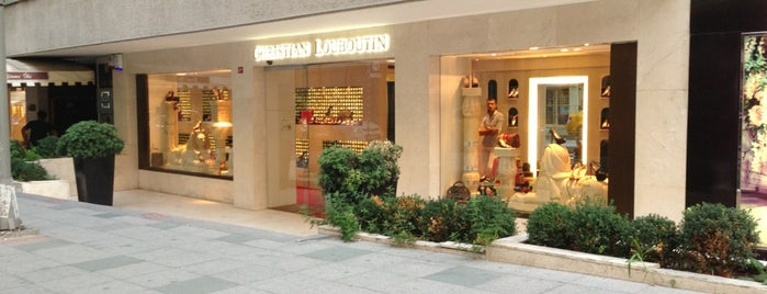 Christian Louboutin is one of Shoppin'.