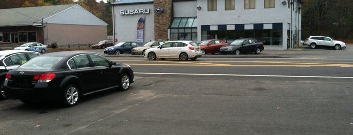 Village Subaru is one of Subaru of New England Dealers.