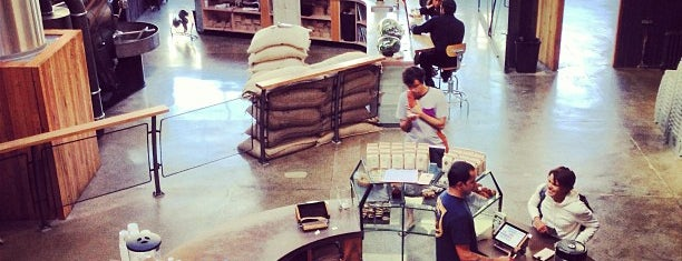 Sightglass Coffee is one of 11 Bay Area Roasteries.