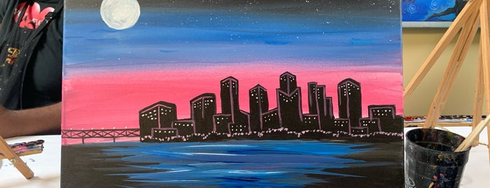 Painting With A Twist - Westheimer is one of Places to Visit.