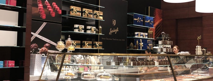 Confiserie Sprungli Swiss Chocolate is one of The Dog's Bollocks' Dubai.