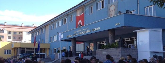Refika Aksoy İlkogretim Okulu is one of Posti che sono piaciuti a Görkem.