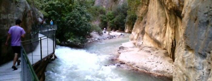 Saklıkent Kanyon is one of * GİDİYORUZ :)).