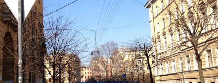 3-я Советская улица is one of Леночка 님이 좋아한 장소.