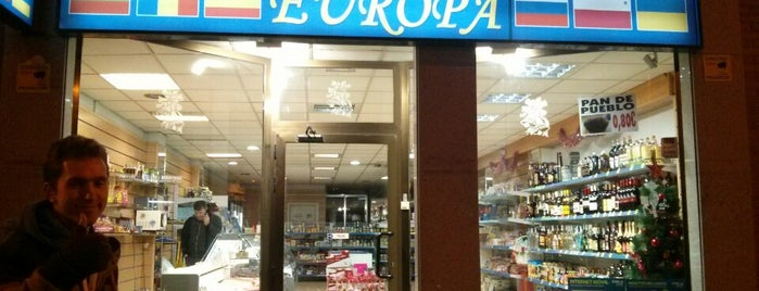 Delicateses Europa is one of Vallecas trends.