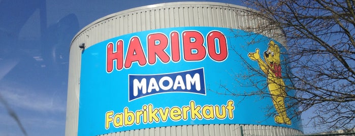 Haribo Fabrikverkauf is one of Düsseldorf pending.