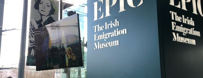 EPIC The Irish Emigration Museum is one of Dublin.