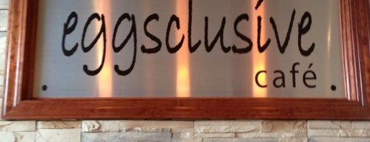 Eggsclusive Cafe is one of Dekalb.