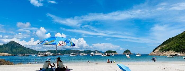 Sai Wan Beach is one of Fragrant Harbour HK.