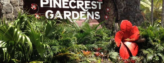 Pinecrest Gardens is one of Miami.