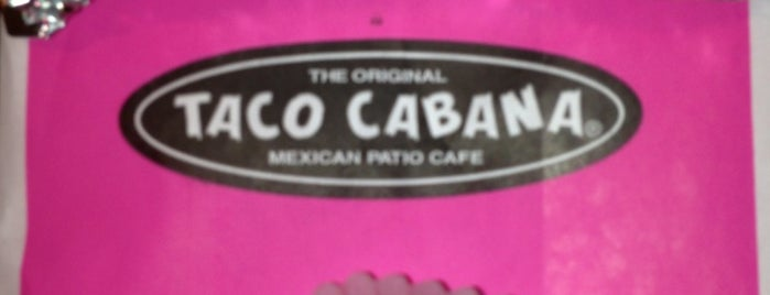 Taco Cabana is one of 🌮.