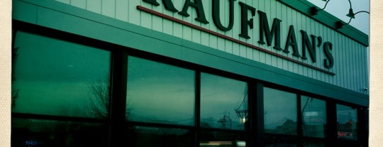 Kaufman's Bagel & Delicatessen is one of Places I've Tried & Enjoyed ;).