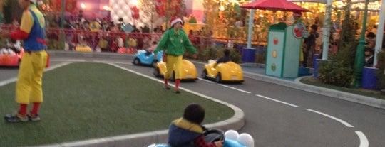 Elmo's Little Drive is one of Universal Studios Japan.