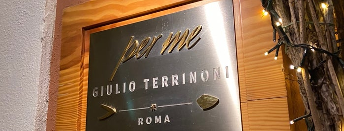 Per Me - Giulio Terrinoni is one of Rome.