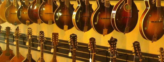 Gruhn Guitars is one of Nashville.