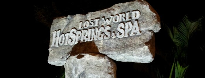Lost World Hot Springs & Spa is one of Malaysia Interest.