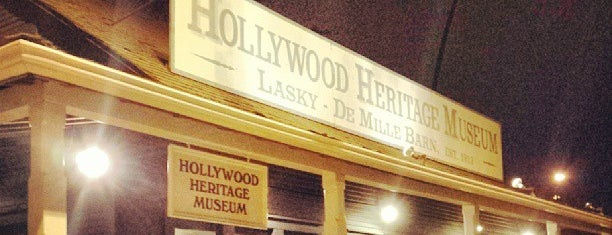 Hollywood Heritage Museum is one of CBS Sunday Morning.