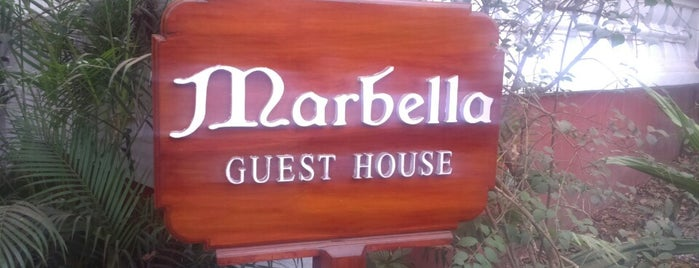 Marbella Guest House is one of Orte, die Maria gefallen.
