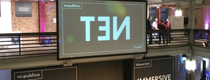 re:publica TEN is one of 4sq365de (1/2).