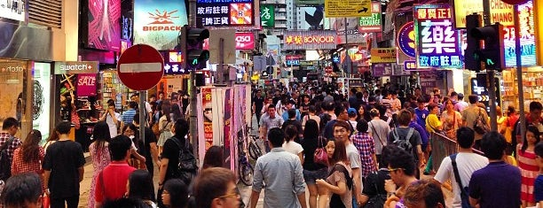 Mongkok City Centre is one of Around the world.