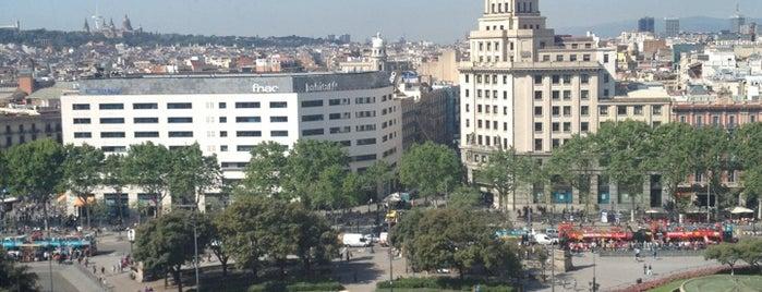 Praça da Catalunha is one of Best of Barcelona.
