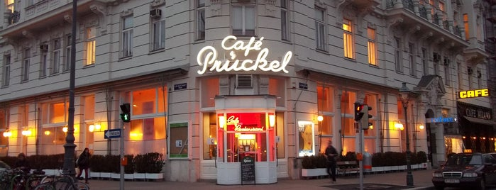 Café Prückel is one of T+L's Definitive Guide to Vienna.