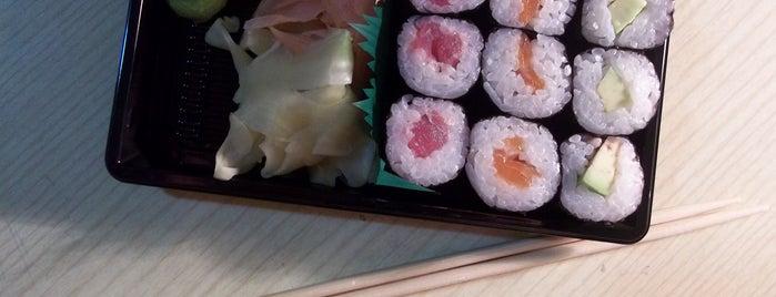 Wasabi Running Sushi & Wok Restaurant is one of International favies.