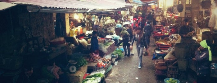 Chợ Sa Pa (Sapa Market) is one of Vietnam.