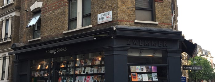 Koenig Books is one of London.
