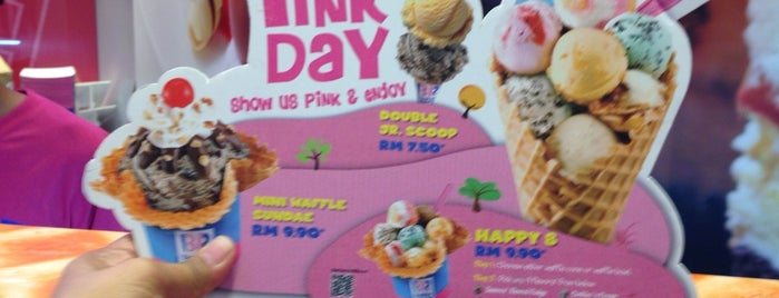 Baskin-Robbins is one of Orte, die Rahmat gefallen.