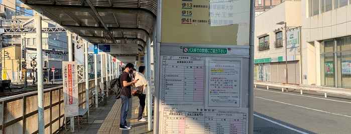 伊勢原駅北口バスターミナル is one of 大山保存.