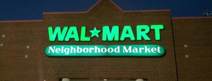 Walmart Neighborhood Market is one of Tempat yang Disukai Latonia.