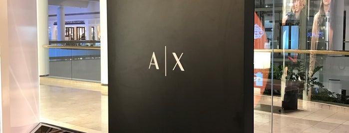 A X Armani Exchange is one of Jana: сохраненные места.
