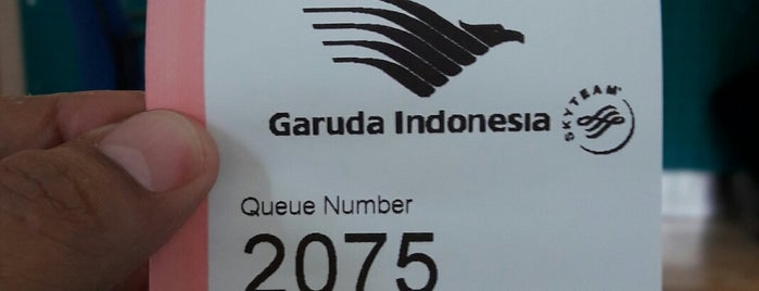 Garuda Indonesia (Ticketing Dept.) is one of Chakra Indra'nın Beğendiği Mekanlar.