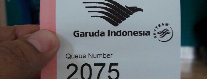 Garuda Indonesia (Ticketing Dept.) is one of Tempat yang Disukai Chakra Indra.