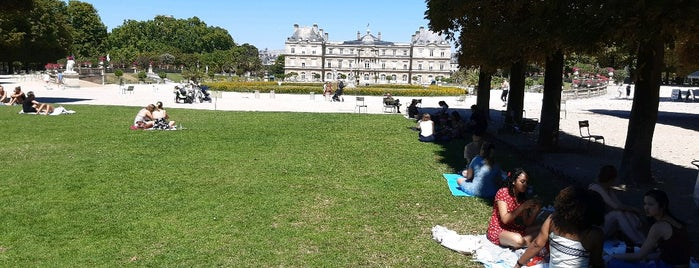 Grand Bassin du Jardin du Luxembourg is one of Vanessa'nın Beğendiği Mekanlar.