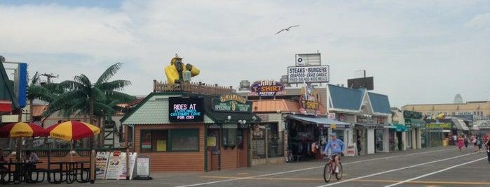 Ocean City Boardwalk is one of Lugares donde estuve en el exterior.