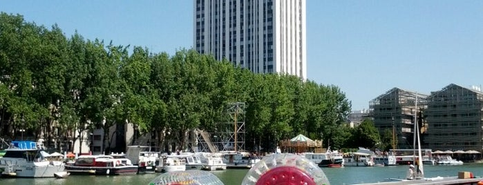 Paris Plages – Bassin de la Villette is one of Olivierさんのお気に入りスポット.