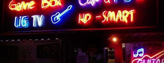 Gamebox Cafe & Karaoke is one of Orte, die Ahmetcan gefallen.