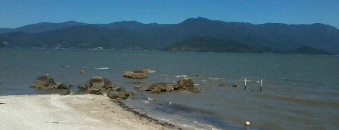 Praia da Caieira da Barra do Sul is one of Lugares que já dei checkin.