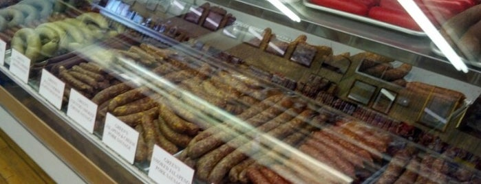 Green's Sausage House is one of kolache heaven.