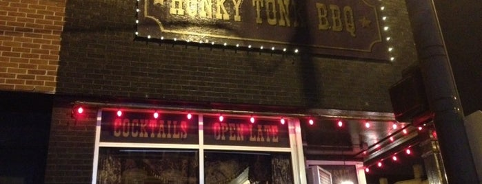 Honky Tonk BBQ is one of Chicago Magazine's 100 Best bars 2013.